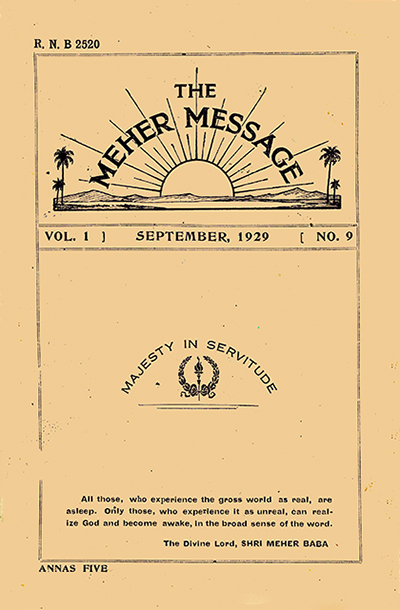 the meher message